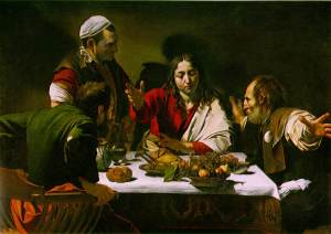 Caravaggio-emmaus