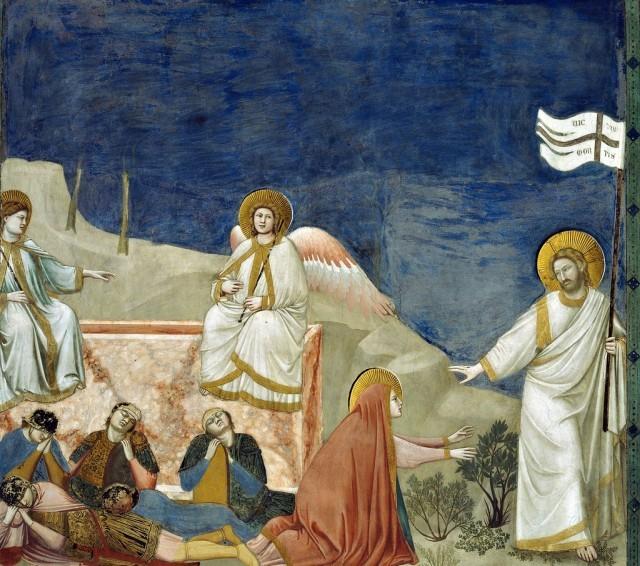 giotto resurrezione