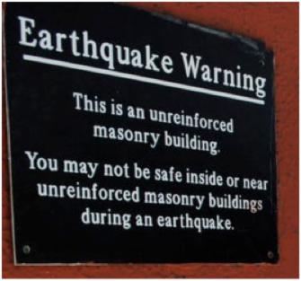 edificio non sicuro