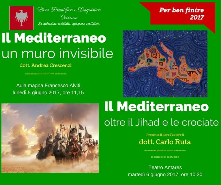 due giorni sul mediterraneo 5-6 giugno 2017