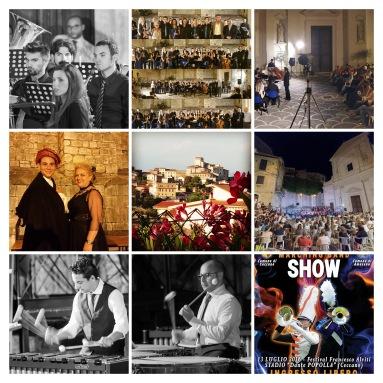 festival collage
