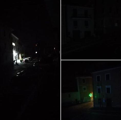 piazza buio