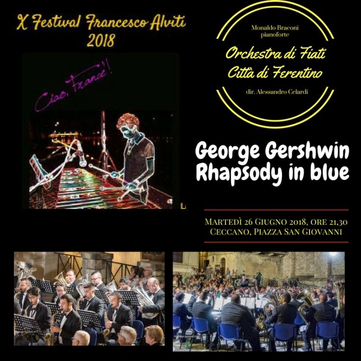 Festival 2018 orchestra ferentino 26 giugno